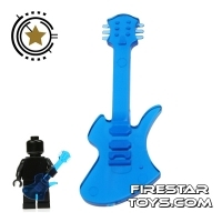 Amazing Armory - Transparent Blue Electric Guitar 4
