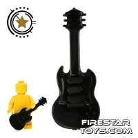 Lego  - Amazing Armory - Black Electric Guitar 7