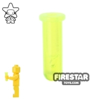 Lego  - BrickForge - Test Tube - Trans Neon Green