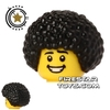 LEGO Hair - Afro - Black