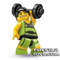 LEGO Minifigures - Weightlifter