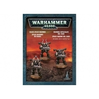 Role Playing Games  - Warhammer 40,000 - Chaos Space Marines 3 Pack