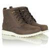 Kids Mapel Brown Leather Ankle Boot