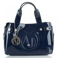 Navy 05.235.55 Womens Diamante Stud Shoulder Bag
