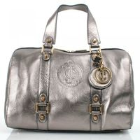Handbags|Boots  - Pewter Leather Everyday Steffy Womens Shoulder Bag