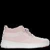 Uberknit Pink Metallic Slip On High Top Trainers