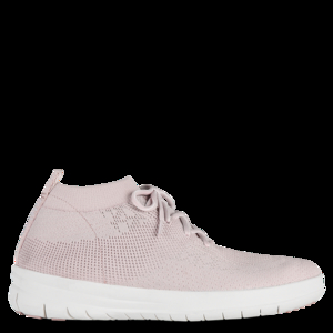 Uberknit Pink Slip On High Top Trainers