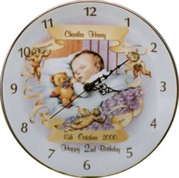 Birthday Gifts  - Baby Asleep Birthday Clock