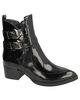 Vegan Demi High Shine Ankle Boots