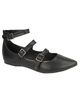 Vegan Jessica Three Strap Shoes
