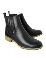 Purses & Wallets  - Vegan Taylor Side Vent Chelsea Ankle Boots