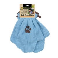 Grooming  - Dogs Unleashed Microfibre Paw Mitts