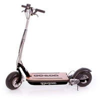 MyWay Compact electric scooter folds up like a carry bag