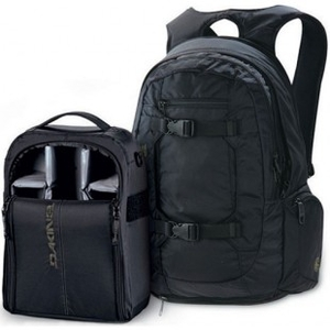Cases & Bags  - Dakine Rucksack | Dakine Mission Photo Pack 10-11 - Black
