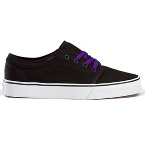 Shoes  - Vans Shoes | Vans 106 Vulcanised Shoe - Black Heliotrope