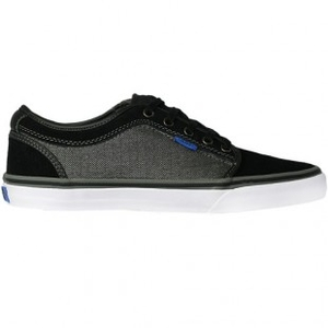 Shoes  - Vans Shoes | Vans Chukka Low Shoe - Black Charcoal Herringbone