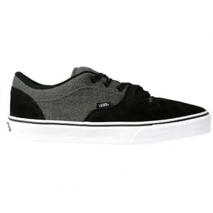 Shoes  - Vans Shoes | Vans Rowley Style 99 Shoe - Black Grey Wool