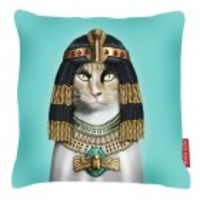 Home Textiles & Accessories  - Cleopatra Cushion Pets Rock