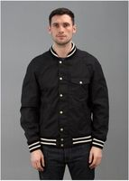 65/35 Reversible Varsity Jacket - Black