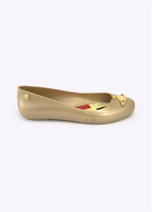 Anglomania x Melissa Space Love Gold Pearlized