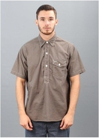 C Post 4 Shirt - Brown Blues
