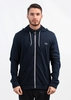 Hooded Jacket - Open Blue