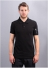 M CL Logo Polo - Black on Black