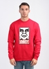 OG Face Crew Sweater - Red