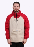 Jackets  - PAC JAC Packable Jacket - Red / Tan