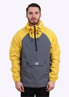 Jackets  - PAC JAC Packable Jacket - Yellow / Grey