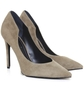 Abi Suede Court Shoes