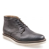 Men's Shoes Farley Mens Black Leather Boot