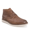 Farley Mens Caramel Brown Leather Boot