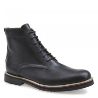 Tanner Mens Black Leather Lace Up Boot S4201