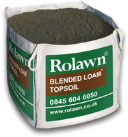 Rolawn Blended Loam Topsoil (1m³ Bulk Bag - 1, 000 litres approx volume when packed)