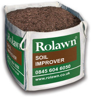 Rolawn Soil Improver (1m³ Bulk Bag - 1, 000 litres approx volume when packed)