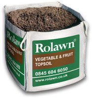 Rolawn Vegetable & Fruit Topsoil (1m³ Bulk Bag - 1, 000 litres approx volume when packed)
