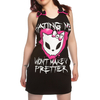 Belts|Women's|Boots Bye Bye Kitty Pretty Dress (Black)