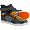Shoes|Men's Shoes|Boots Osiris Rhyme Remix Shearing Design Hi-Top Trainer Boots (Black/Orange)