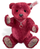 Teddy Bears Steiff Ruby Bear - With SWAROVSKI elements