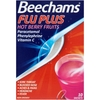 Beechams Flu Plus Hot Berry Fruits Sachets 10s