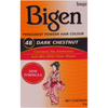 Bigen Permanent Powder Hair Colour - No 48 Dark Chestnut