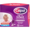 Calpol Infant Strawberry Flavoured Sugar Free Suspension Sachets 12x5ml