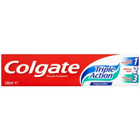 Health & Wellbeing|Toothpaste  - Colgate Triple Action Original Mint Toothpaste 100ml