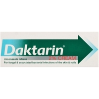 Treatment & Prevention|Skin & Hair Protection|Other Illnesses  - Daktarin Cream 15g