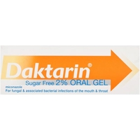 Health & Wellbeing|Treatment & Prevention|Other Illnesses|Oral Hygiene  - Daktarin Sugar Free 2% Oral Gel 15g
