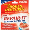 D.O.C Repair-It Denture Repair Kit (3 Repairs)