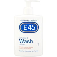 Treatment & Prevention|Skin & Hair Protection  - E45 Emollient Wash Cream 250ml
