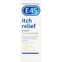 Treatment & Prevention|Skin & Hair Protection  - E45 Itch Relief Cream 100g