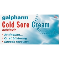 Health & Wellbeing|Treatment & Prevention|Other Illnesses|Oral Hygiene  - Galpharm Cold Sore Cream 5% 2g